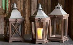 Our Park Hill Lanterns, a part of the our Park Hill Collection, are the perfect excuse to add some candle lanterns to your space. For our full Park Hill Lanterns collection visit Antique Farmhouse. Lanterns Decor, Candle Lanterns, Decorative Lanterns, Vintage Lanterns, Glass Candle, Antique Farmhouse, Farmhouse Decor, Rustic Hardware, Lantern Candle Holders