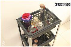 Carrinho multiuso – Brinox: carrinho prático e funcional para o dia a dia