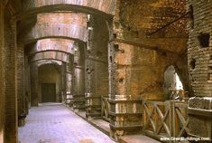 Markets of Trajan (interior) Great Buildings Image -
