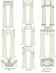 Diferentes cortinas