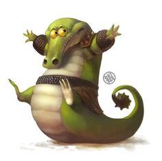 Not so master Master Croc by Silverfox5213.deviantart.com on @deviantART