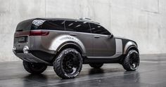 2014 | Qoros 8 Ultimate Off-Roader | Munich University of Applied Sciences Bachelor Thesis by Sergey Konkov (QOROS Design Team)
