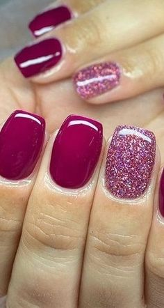 30 Newest Short Nails Art Designs To Try In 2020 - shellac nails Cute Acrylic Nails, Acrylic Nail Designs, Nail Art Designs, Nails Design, Shellac Designs, Paint Designs, Polygel Nails, Glitter Nails, Coffin Nails