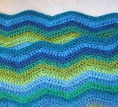 Love crochet ripples.  Must make this.