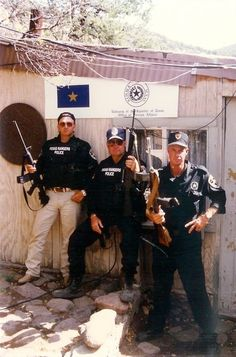 Texas Rangers after a standoff near Fort Davis, Texas