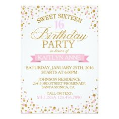 Sweet 16 gold white faux glitter birthday card glitter birthday sweet 16 gold white faux glitter birthday card glitter birthday sweet 16 and sweet 16 stopboris Image collections