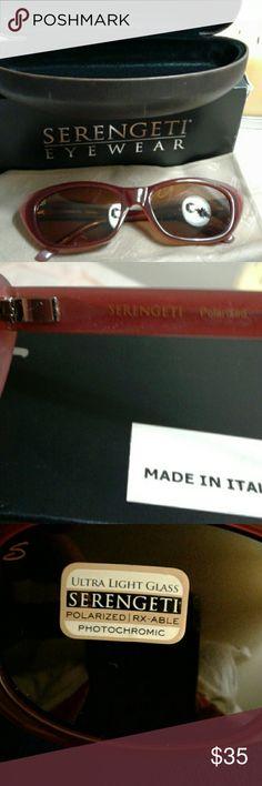 4dcbe436343 Serengeti sunglasses Serengeti sunglasses. Made in Italy. Color Bagheria  Wine LAM 7790 . Ultra