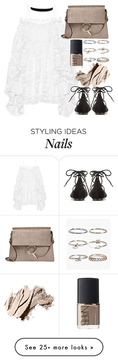 """""""Untitled #19664"""" by florencia95 on Polyvore featuring Chloé, Boohoo, NARS Cosmetics and Bobbi Brown Cosmetics"""