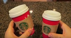 Check Out This Cool Starbuck's Cup Illusion Trick