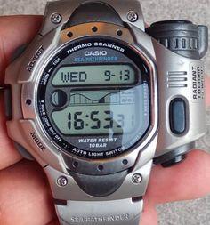 """Casio """"Sea PathFinder"""" Casio G Shock Watches, Retro Watches, Timex Watches, Big Watches, Stylish Watches, Luxury Watches, Vintage Watches, Cool Watches, Watches For Men"""