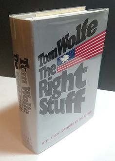 The Right Stuff- Signed- Tom Wolfe by TheVintageVagabonds on Etsy