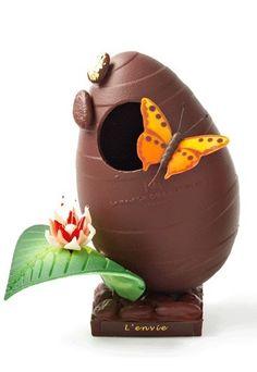 """La Maison du Chocolat - Oeuf """"l'envie"""" - œuf de Pâques en chocolat"""