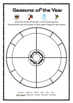 Seasons of the Year Freebie Classroom Freebies Too is more freebies for more teachers! Seasons Worksheets, Seasons Activities, Weather Activities, Science Activities, Activities For Kids, Aboriginal Education, Indigenous Education, Aboriginal Culture, Indigenous Games