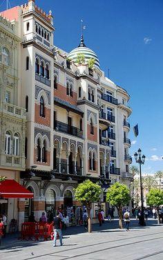 Seville en #Espagne par H. Eisenreich Foto #Voyage
