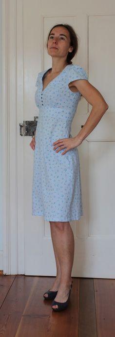 Bei Primavera bewunderte ich wunderschöne Kleider , die sie nach dem Schnittmuster New Look 6069 genäht hatte. Natürlich begab ...