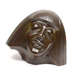 Bronzen sculptuur van de danseres Darja Collin ontwerp Cris Agterberg ca.1927 uitvoering Metaalgieterij Holland / Amsterdam
