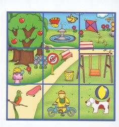 Lotto 4, free printable / LOTO DE AMBIENTES - silaine - Picasa Webalbums