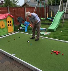 """""""Snooker Golf For Hire"""" Backyard Sports, Backyard Bar, Backyard Games, Outdoor Bowling, Outdoor Fun, Diy Pool Table, Giant Yard Games, Game Room Tables, Outside Games"""