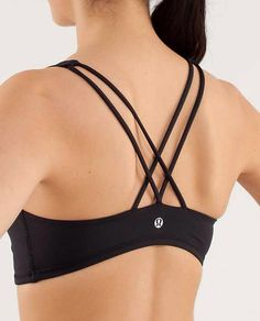 Free to Be sports bra from lululemon. Love the straps.