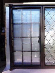 Tudor Artisans - Example Steel Windows Metal Windows, Casement Windows, Windows And Doors, Loft Door, Window Grill, Window Design, Tudor, Steel Frame, Wrought Iron