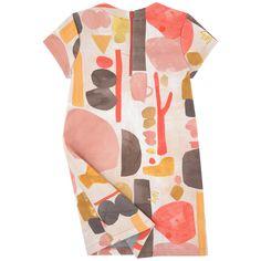 Printed neoprene dress - 165866