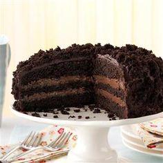 브루클린 블랙아웃 케이크