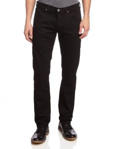 Lee Daren Regular Slim Fit Denim Jeans Clean Black