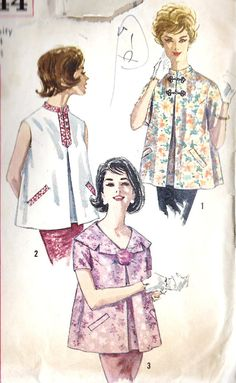 1960s Misses Summer Maternity Tops Vintage by MissBettysAttic, $8.00