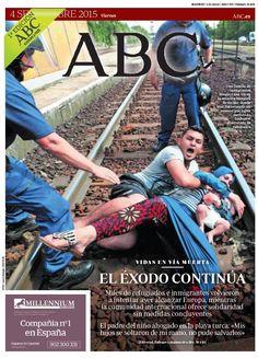 La portada de ABC del viernes 4 de septiembre