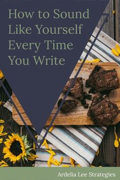Are tired of trying to sound like yourself when you write? It's time to take concrete steps to actually, really, FINALLY sound like yourself EVERY TIME you write for your business. This is a super simple process that will help you identify how you sound when you write. It'll also give you a glimpse into more of you. That's right. This is kind of introspective. But don't let that scare you away! Click through to start sounding like yourself every time you write.