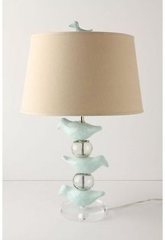 eclectic table lamps byAnthropologi  Paper Mache