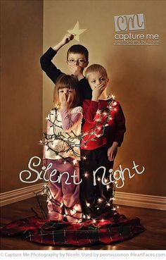 Funny--- should have done this with my kids!