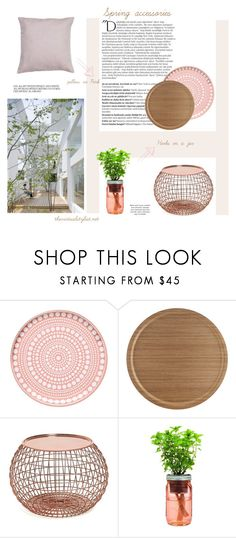 """""""Spring accessories"""" by efashiondiva7 ❤ liked on Polyvore featuring interior, interiors, interior design, home, home decor, interior decorating, Balmain, iittala and Åry Trays"""