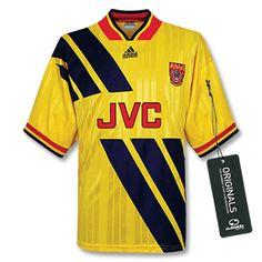 Classic Football Shirts, Football Love, Retro Football, Football Kits, Football Jerseys, Arsenal Shirt, Arsenal Fc, Retro Sportswear, Soccer Uniforms