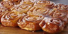Classic Cinnamon Sticky Buns - I added raisins and finely chopped pecans. These are DELISH!!