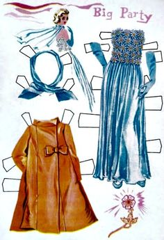 Annette Funicello Paper Doll (1962)