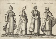 Espagnole de Santander, de Bilbao, Dixeres de la Frontera Recueil de costumes étrangers...] / [par J.-J. Boissard 1581