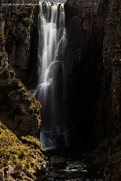 Wailing Widow falls - Assynt, Scotland   (copyright: Andrew McGavin)