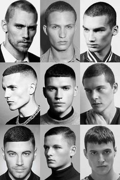 25 Buzz Cut Hairstyles - Men\'s Hairstyles and Haircuts
