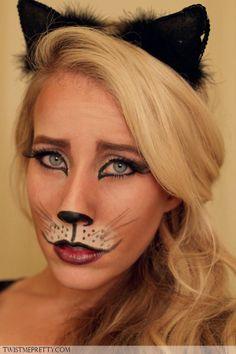 Step 11 Halloween Cat Makeup Tutorial   Things of Interest ...
