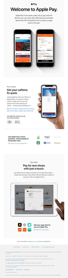 Apple Email - Get to know Apple Pay Email Design, Getting To Know, Real Life, All About Time, Apple, Design Inspiration, Jar, Apple Fruit, Apples