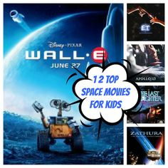 """Top 12 Space Movies For Kids Not Called """"Star Wars"""""""