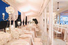 Photography: Mango Studios - mangostudios.com   Read More: http://www.stylemepretty.com/2014/09/26/elegant-south-florida-wedding-at-seagate-beach-club/