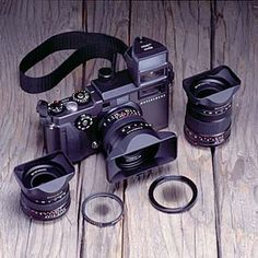 Hasselblad Xpan, a panoramic camera that created 24x65mm images on 35mm film. My favorite film camera of all time.