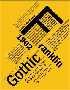 carattere tipografico 2 Franklin Gothic [1903 - Morris Fuller Benton]