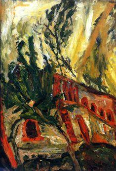 Red Viaduct, 1919 / Chaim Soutine