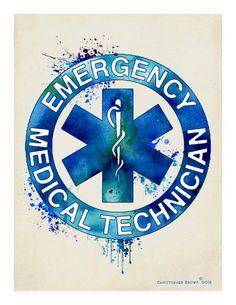 Acuarela EMT impresión Fine Art 8.5 x 11 estrella de la