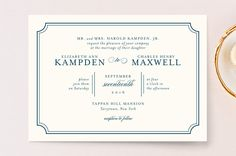 Classy Type by Kimberly FitzSimons at minted.com