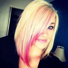 #hotpink #blonde #hair #hairtips #beauty