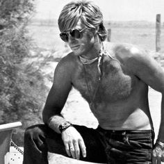 Robert Redford! All I can say is daaammn!